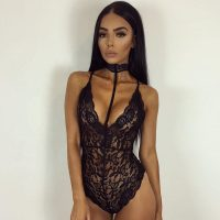 Hot Japanese Girl Elastic in Black