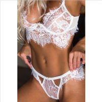 Ladies Erotic 2pc Set in White
