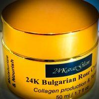 24K Bulgarian Rose Otto Cream 50 ml
