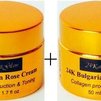 24K Bulgarian Rose Otto Cream 100 ml