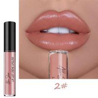 Vegan Lipstick Sexy Nude Pigment Matte Liquid Lip Gloss